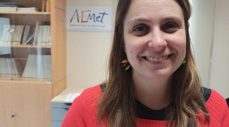 Marta Ferri Llorenç, meteoròloga d'AEMET