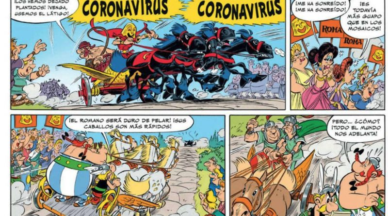 """""""Astérix en Italia"""", el còmic on apareix l'aclamat personatge"""