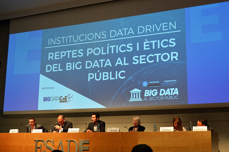 I Jornada Big Data al sector públic